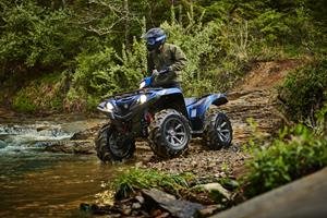 on 2018 Yamaha Camo Grizzly 700