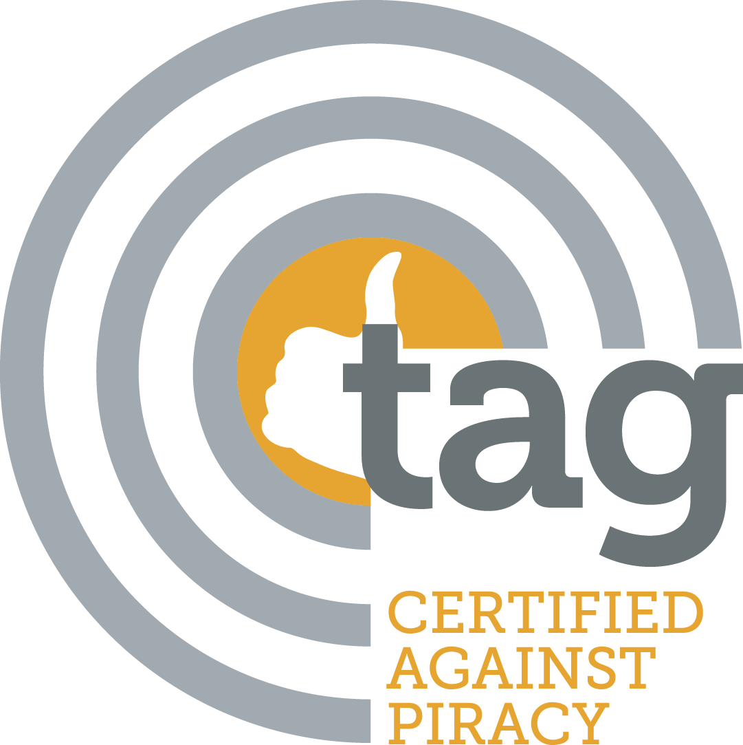 cmyk TAG Certified Against Piracy