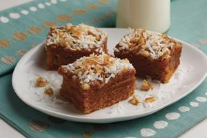 Caramel Crumble Bars