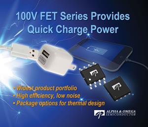 New 100V Quick Charge Series