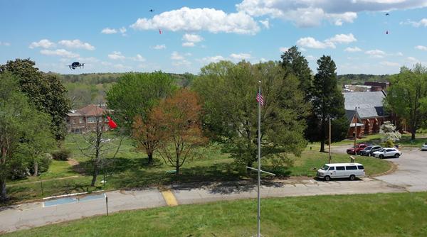 DroneUp Multi-Drone Delivery in Virginia