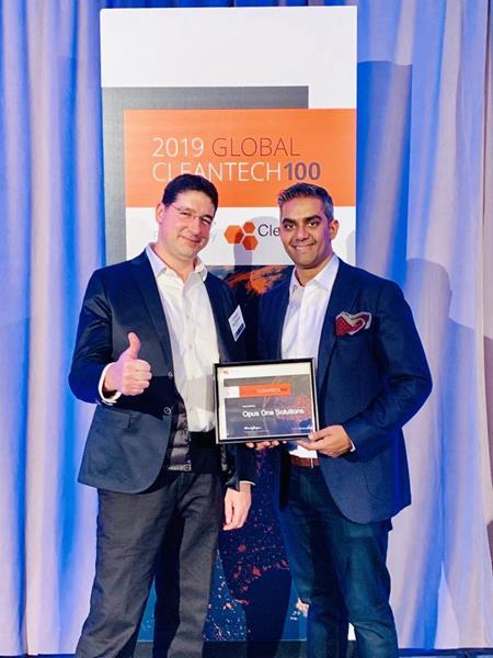 Cleantech 100 Award January 18th
