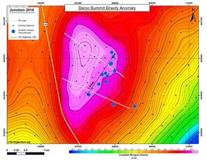 Denio Summit Gravity Anomaly