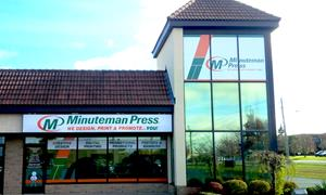 Minuteman Press Guelph Ontario Canada - Storefront