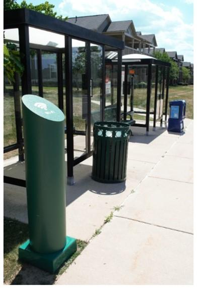 Indoor- and outdoor-rated RMR® solutions such as RMR Bollards support and secure next-generation small cell radio nodes, power electronics and network connections.