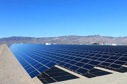 Solar facility in Nevada