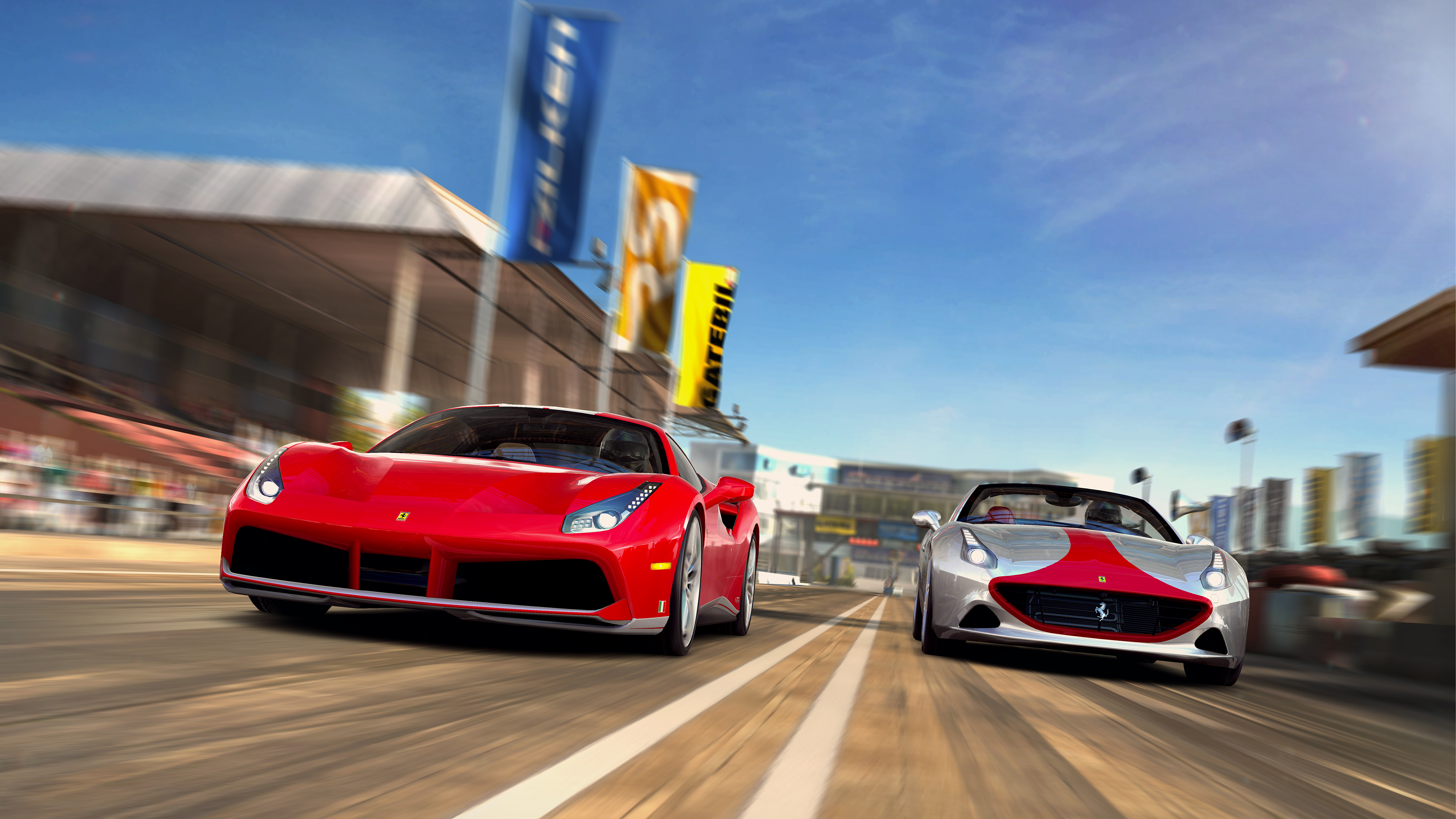 CSR2_Ferrari_488_GTB_vs_Ferrari_California_70th_Anniversary_Shaxstone_Race