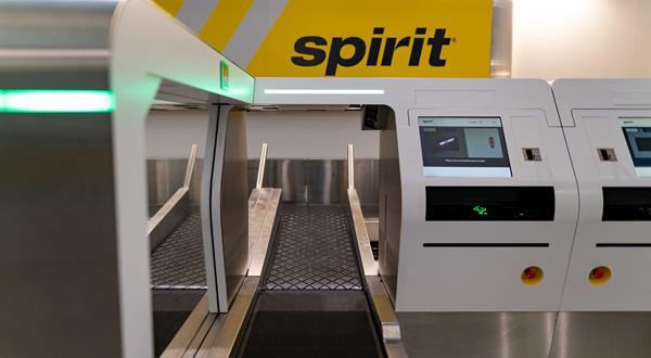 Spirit Airlines Speeds Up Trips at LaGuardia with new, automated Self-Bag Drop