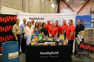 Smithfield Foods Helping Hungry Homes – Sioux Falls, SD