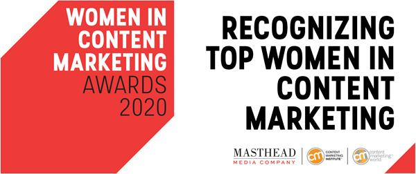 Nominations Are Now Open for the 2020 Women in Content Marketing Awards