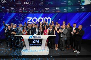 Nasdaq Welcomes Zoom Video Communications, Inc  (Nasdaq: ZM) to The