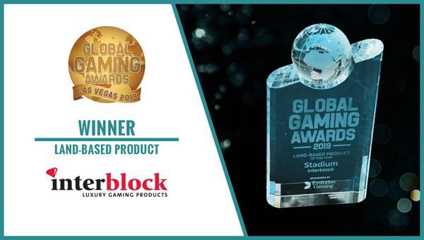 Land-Based Product Winner Global Gaming Awards Interblock - Stadium