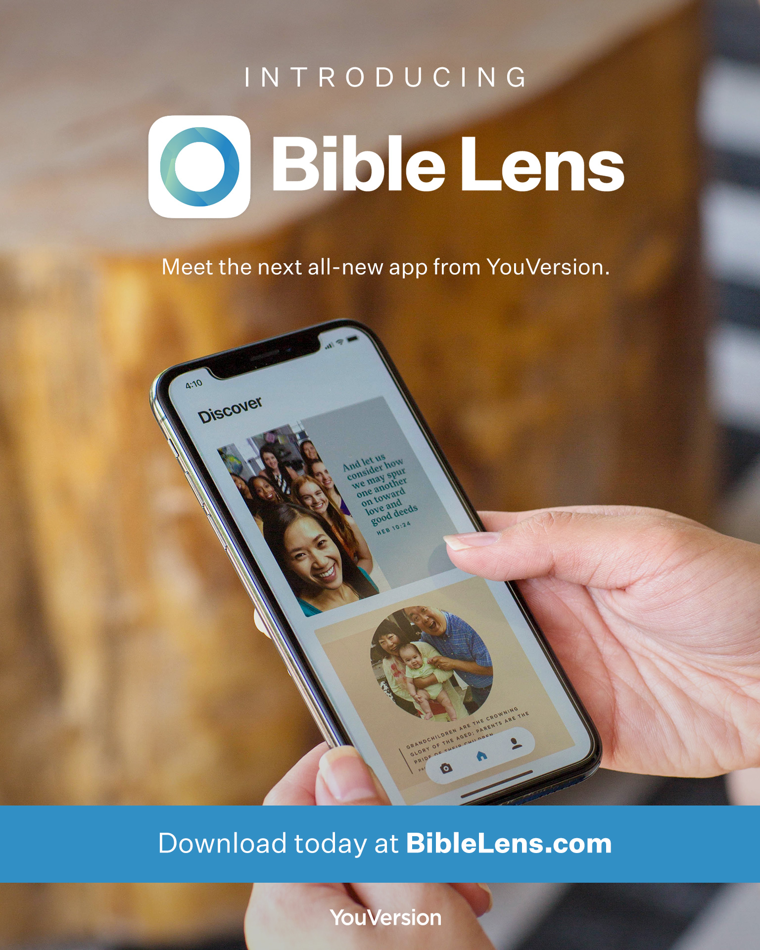 Creators of the YouVersion Bible App celebrate launch of new