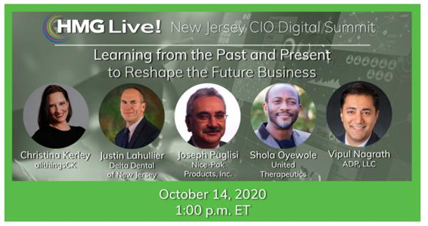 2020 HMG Live! New Jersey CIO Executive Leadership Summit