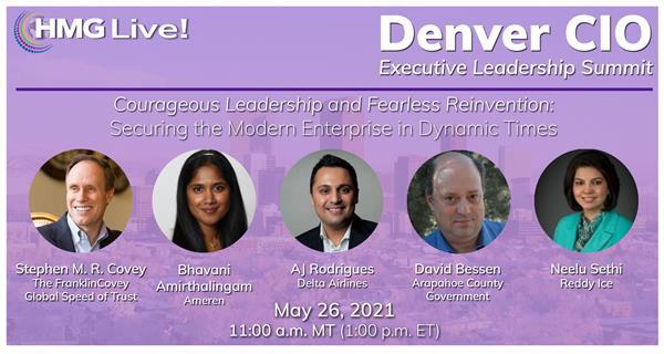 The 2021 HMG Live! Denver CIO Executive Leadership Summit