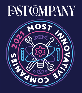 Dolby - Fast Company Most Innovative Music Companies Logo