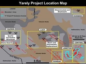 Yarely Project Location Map