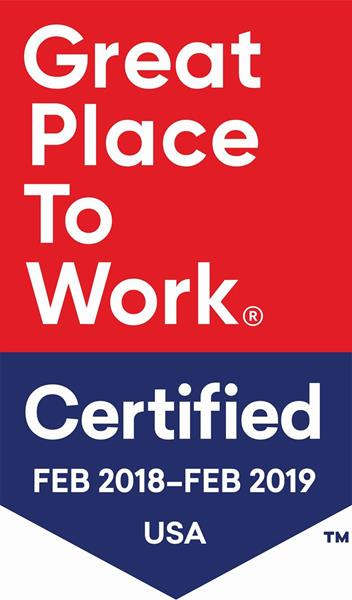 Great Place To Work® Badge
