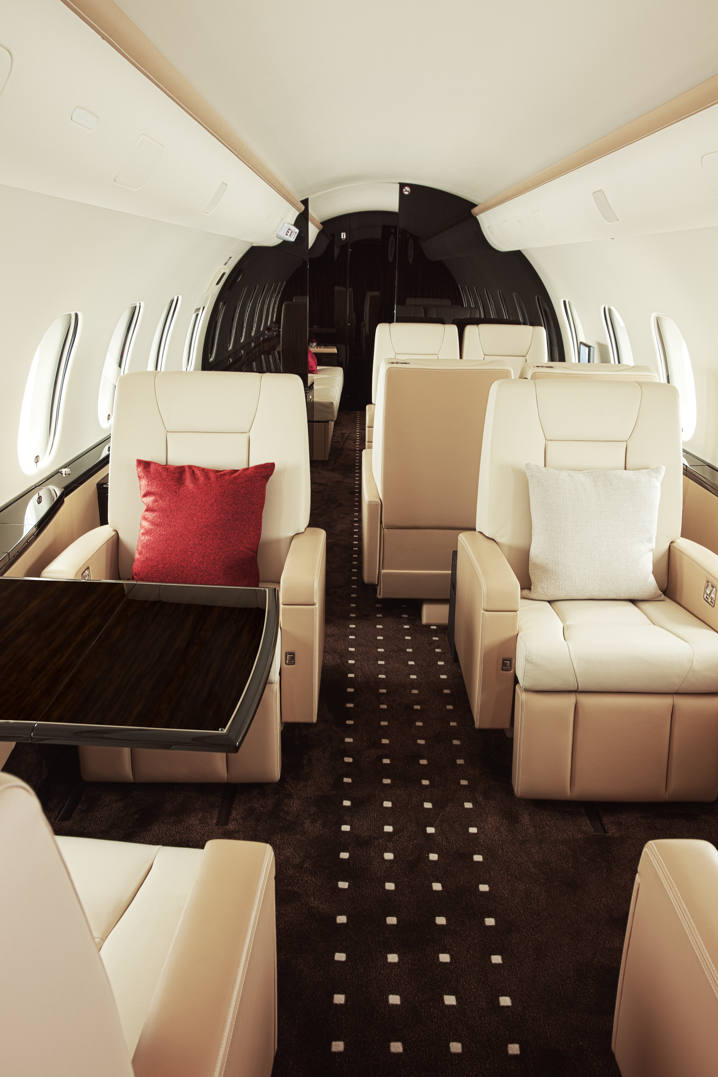 Specially designed aircraft interiors