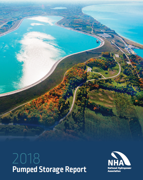 Cover of the 2018 Pumped Storage Report