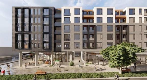 Nicola Wealth Real Estate submits a development proposal to revitalize the intersection of Shelbourne & McKenzie by bringing a mixed-use building incorporating rental apartments, community-building amenities, and retail.