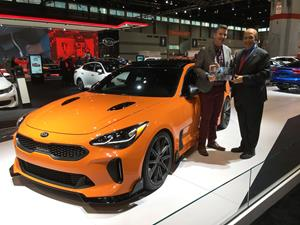 MotorWeeks Best Of The Year Revealed Kia Stinger - Next auto show