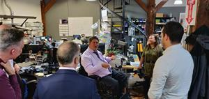 Blackline Safety welcomes Member of Parliament Kent Hehr to Calgary HQ