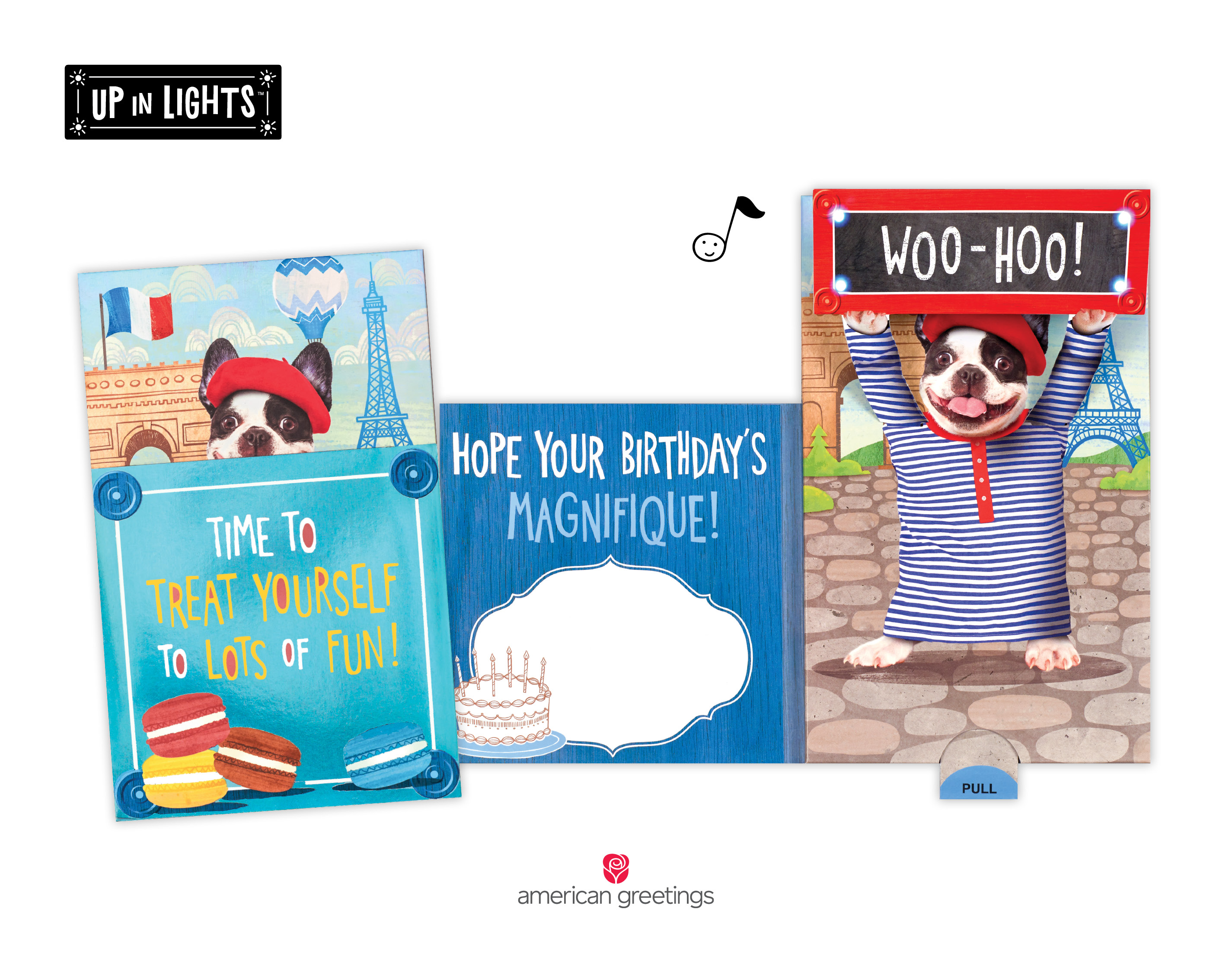 Up In Lights American Greetings Birthday Card