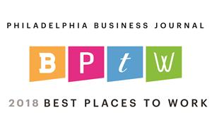 Philadelphia Business Journal 2018 Best Places to Work