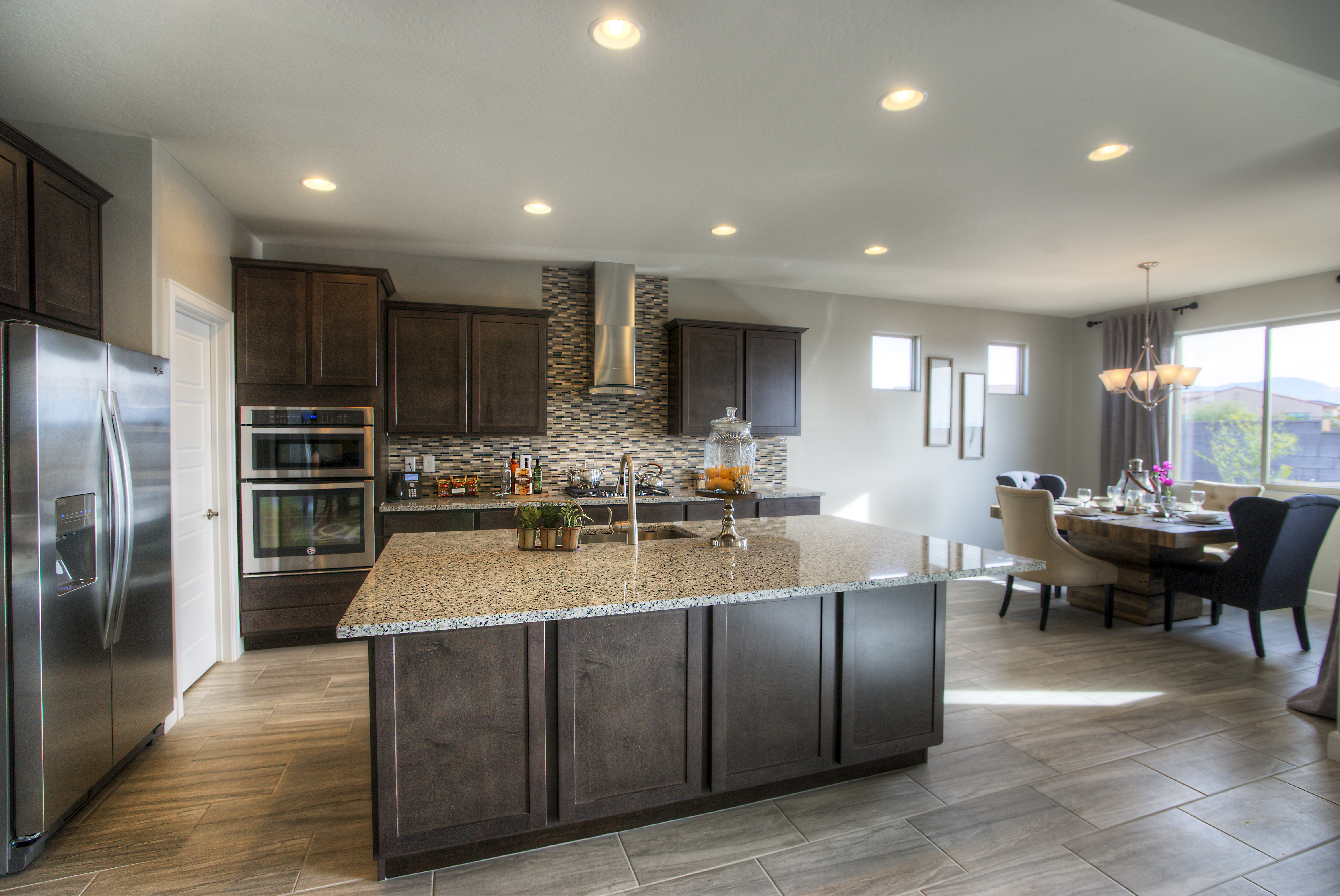 Terrata Homes offers the Mead floor plan in the newest section at Estrella by Newland Communities.