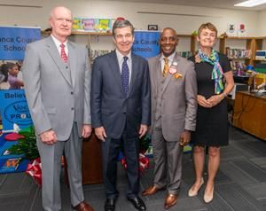 SECU to Help with the Governor's 2nd Annual School Supply Drive