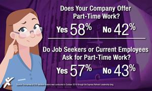 Does your company offer part-time work?