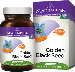 New Chapter® Golden Black Seed Supplement