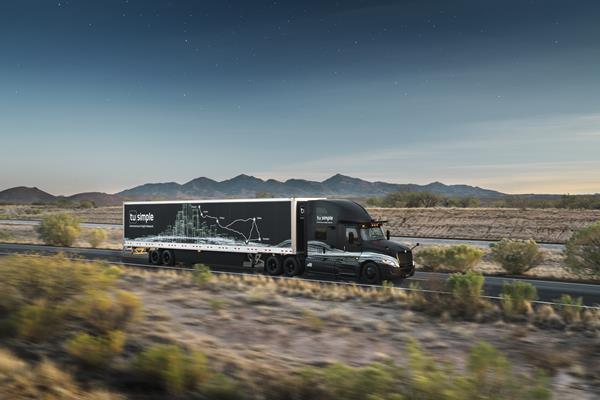 TuSimple Autonomous Semi-truck
