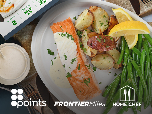 Home Chef expands partnership with Points; adds Frontier Airlines as a new loyalty partner