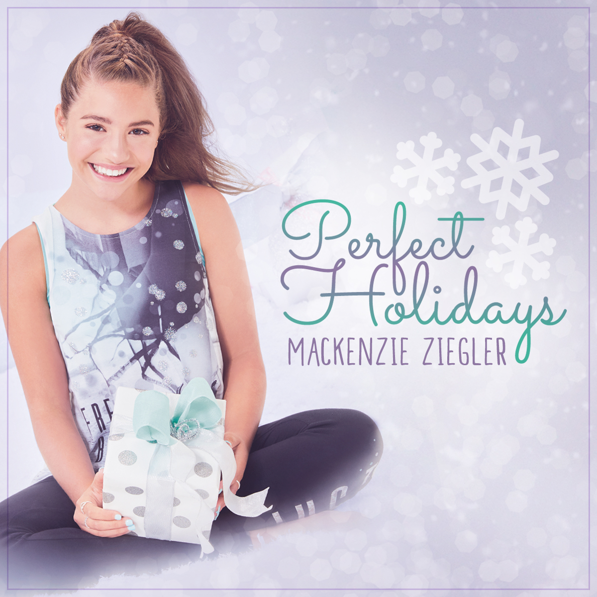 "Mackenzie Ziegler ""Perfect Holidays"" Album Cover"