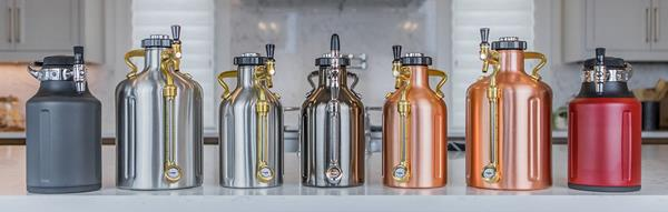 GrowlerWerks product line-up