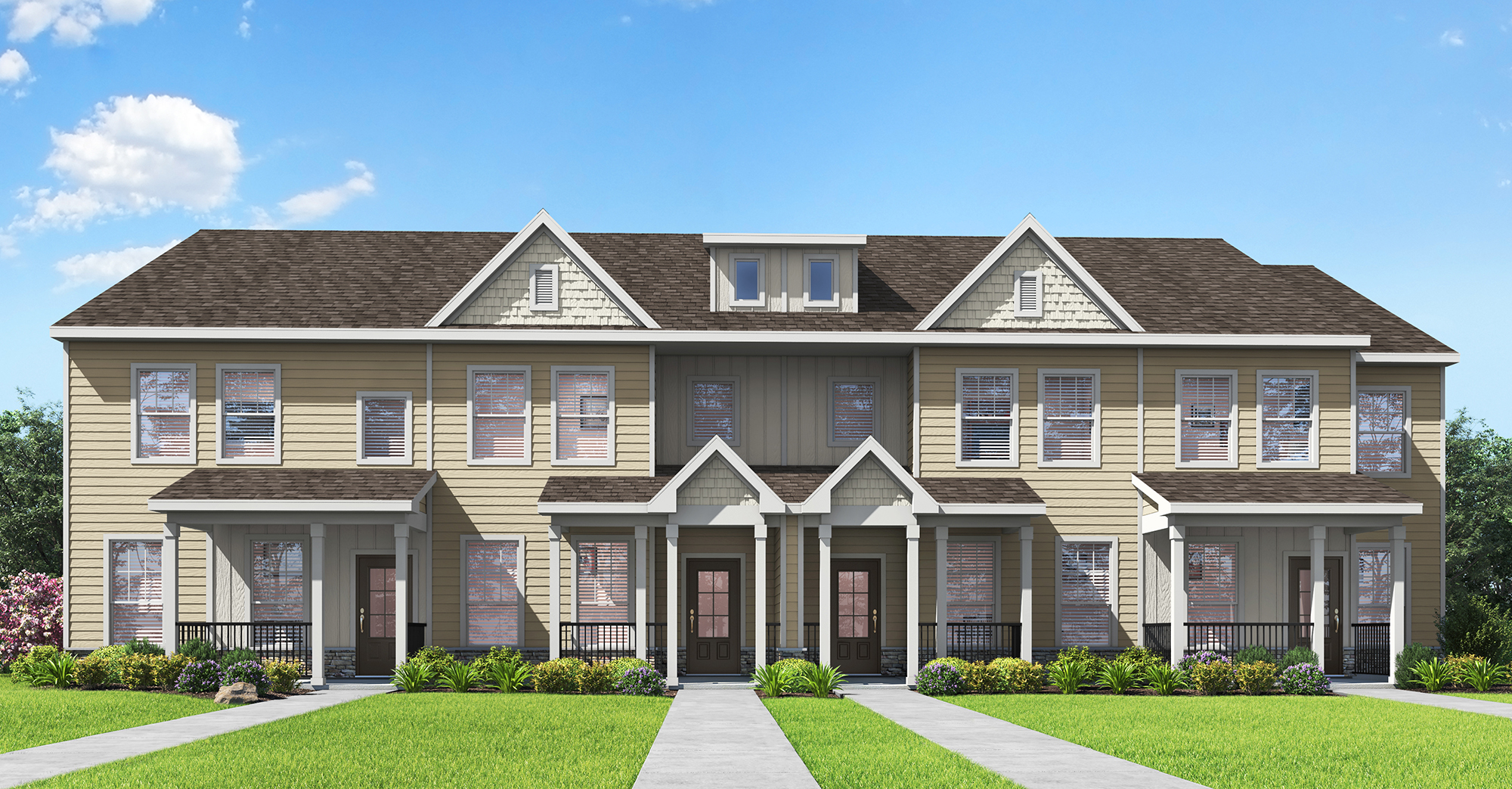 Townhomes by LGI Homes at Huntington Pointe