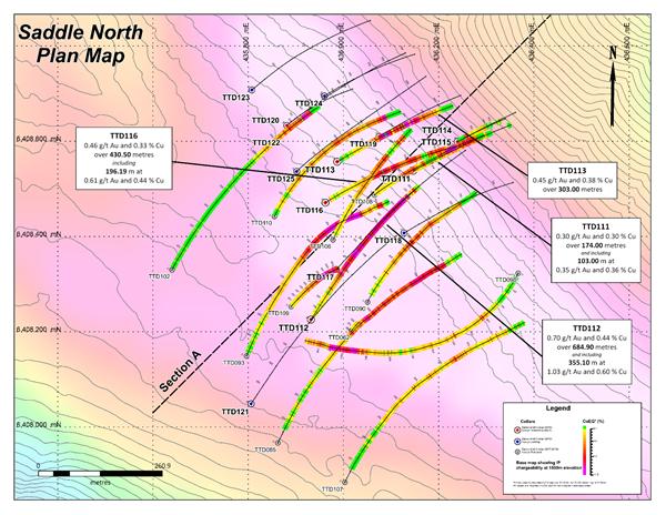 Saddle North Plan Map