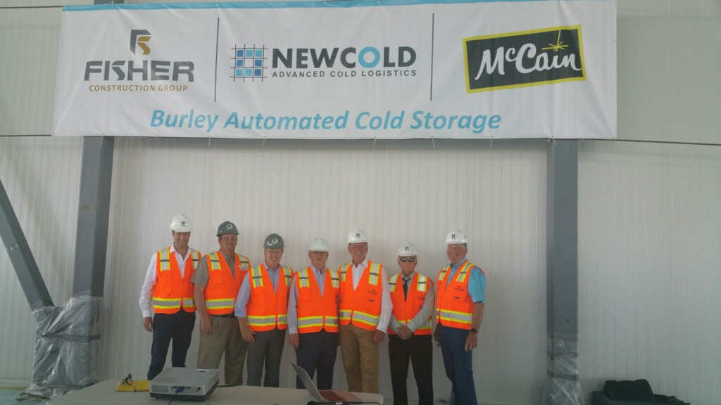 NewCold to Open Fully Automated Cold Storage Facility in