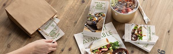 Digital print for restaurants