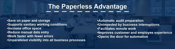 The Paperless Advantage