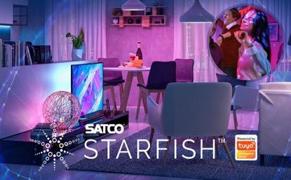 SATCO's STARFISH brand, Powered by Tuya.