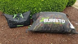 The newest product in the Burrito Brands Incorporated family line up is our Leaf Burrito® Tote Form which is a shoulder bag design that can even be worn as a backpack.  It is perfect for smaller gardens, harvesting, tools, supplies and more.