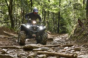 The XT-R Challenge, now in its third year, features an off-road course with varying natural terrains and man-made obstacles specifically designed to put participants and their Proven Off-Road Yamaha Grizzly vehicles to the test.