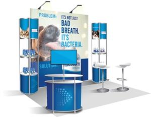 Biostem Expo Booth