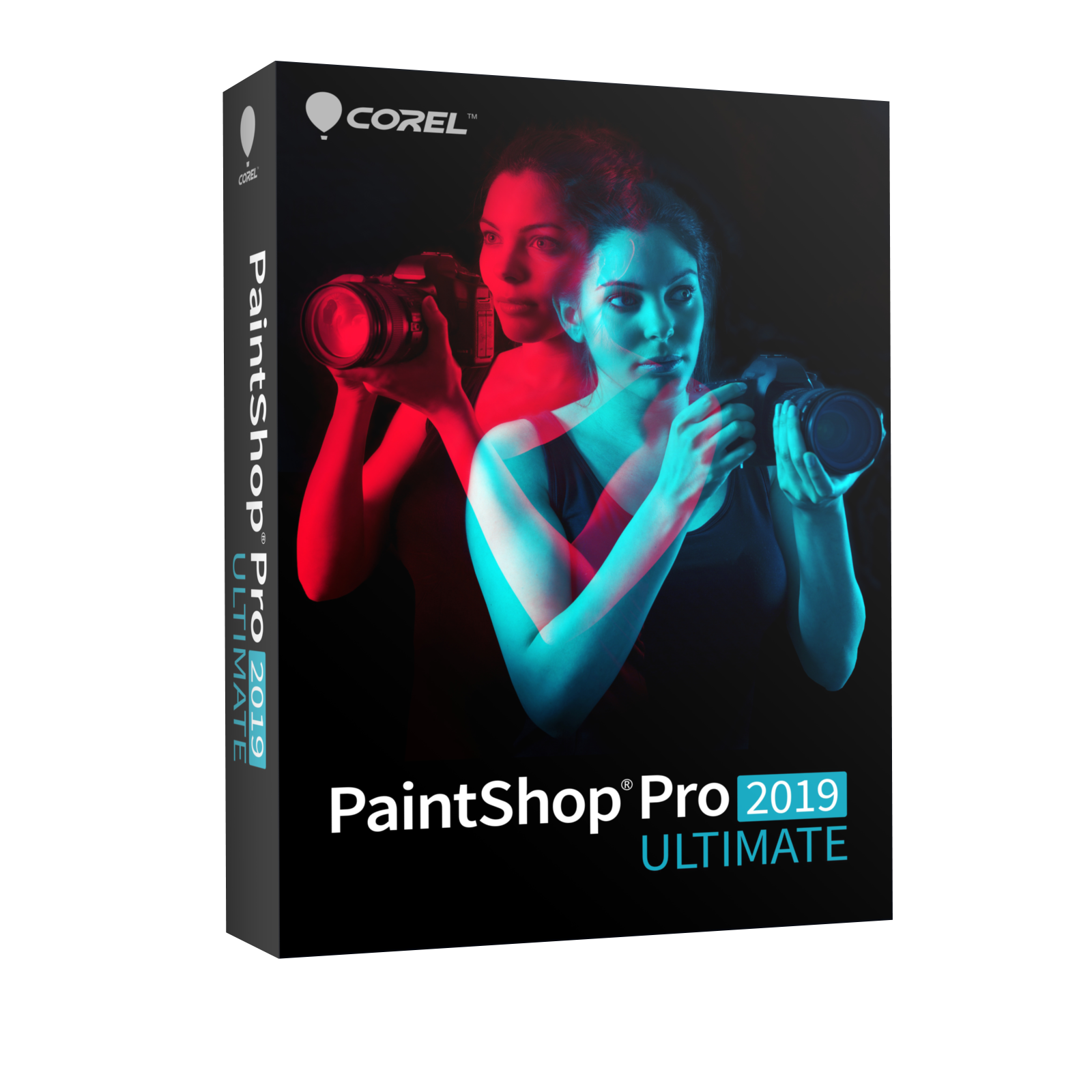 PaintShop Pro 2019 Ultimate - Box
