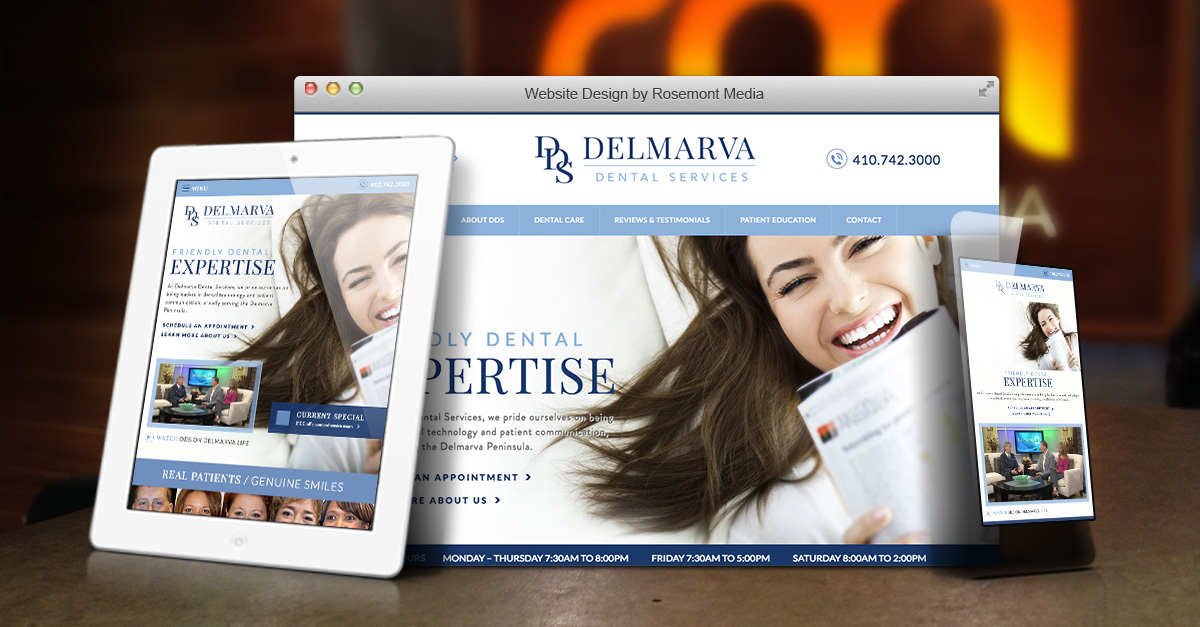 Dentists in Salisbury MD Unveil New Website