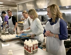 Volunteers at St. Vincent's Dining Room