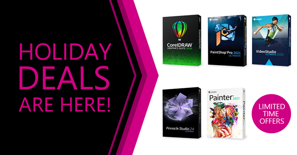 Corel Black Friday Offers 2020